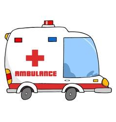 Ambulance Vehicle vector image