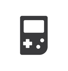 gameboy icon vector image