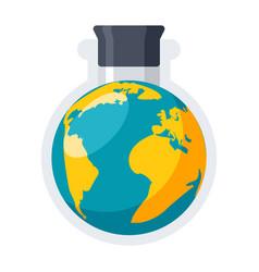 Geochemistry icon vector