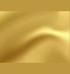 Gold satin and silk cloth fabric crease vector