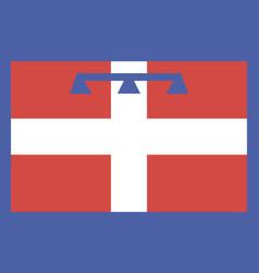 Piedmont flag vector