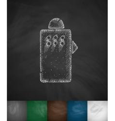 protective shield icon vector image
