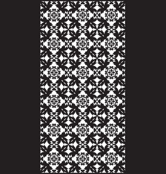 rectangular lattice pattern background in oriental vector image