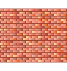 Seamless Grunge Brick Wall Texture vector image