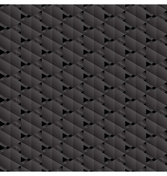 Black hexagons seamless pattern vector image