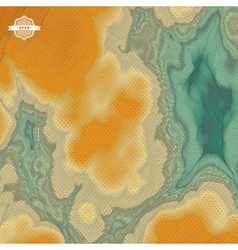 Abstract Landscape Background Mosaic 3d vector image vector image