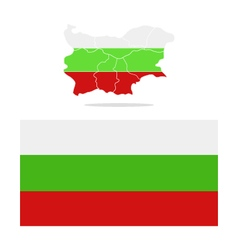 Bulgaria map vector