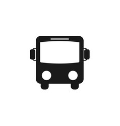 Bus icon graphic design template vector