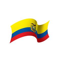 Ecuador flag vector
