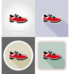 Fitness flat icons 16 vector