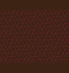 geometric grid seamless pattern vector image