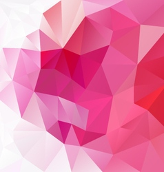 Gradient pink magenta abstract polygon triangular vector