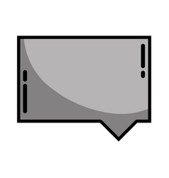 Grayscale chat bubble notes text message vector
