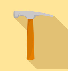 hammer icon flat style vector image