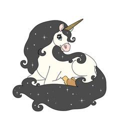 scandi cartoon animal clip art vector image