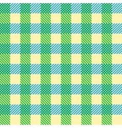Seamless Vintage Square Pattern Geometric vector image
