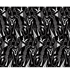 Tribal abstract antique minimal seamless pattern vector image