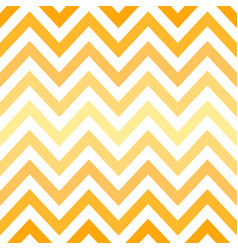 yellow chevron retro decorative pattern background vector image