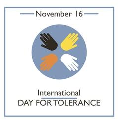 Tolerance day vector