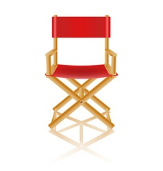 director chair 01 vector image vector image