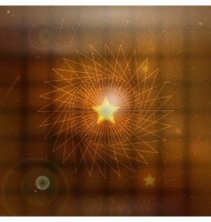 Abstract mystical background vector