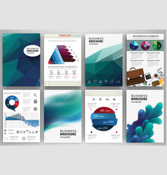 blue backgrounds and concept infographics and vector image