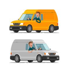 Delivery transportation postal service concept vector