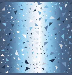 gradient triangle background seamless glowing vector image