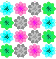 simple flowers vector image vector image