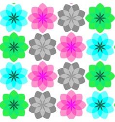 simple flowers vector image