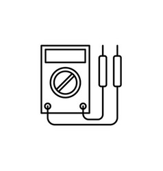 Voltmeter car icon can be used for web logo vector