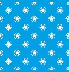 sun pattern seamless blue vector image vector image