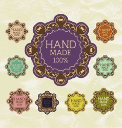 Vintage label for retro banners EPS 10 vector image vector image