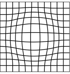 3d circular burst convex globe sphere orb distort vector