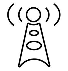 antenna communication technology tower wifi vector image