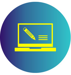 Assignment icon vector