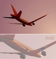Boeing-787 vector