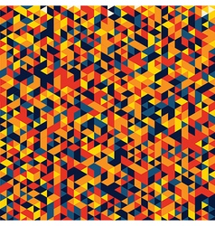 Colorful pattern with rhombus vector image