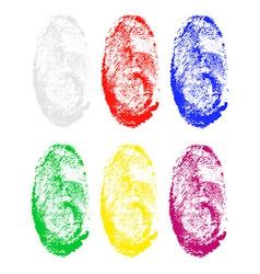 Fingerprint 03 vector