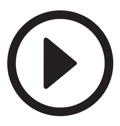 Play Video Button vector image