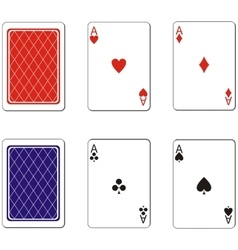 Playing card set 02 vector image