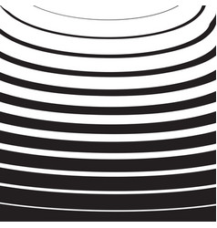 halftone radial pattern background striped lines vector image vector image