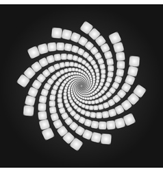 Abstract Spiral Background Cover Template vector image vector image