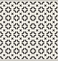 seamless geometric pattern monochrome texture vector image vector image