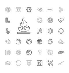 33 round icons vector