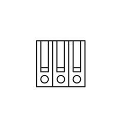 Archive icon vector