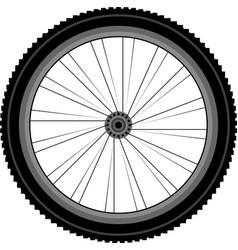 Bike wheel vector