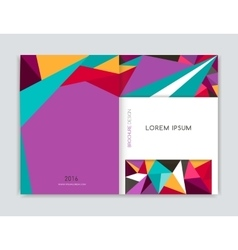 Cover design for Brochure leaflet flyer Abstract vector
