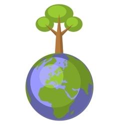Earth globe set 004 vector image