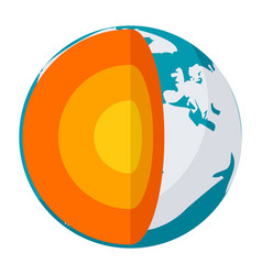 Geophysics icon vector